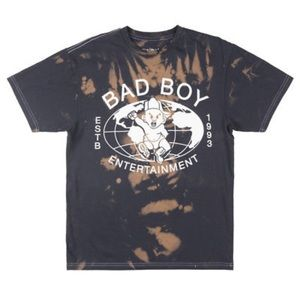 Other - Retro Bad Boy Ent t shirt rare sz M music tee